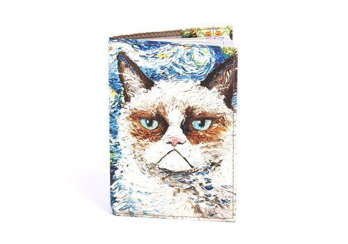"зображення 2 - Обкладинка на паспорт Just cover ""Ван кот"" 13,5 х 9,5 см"