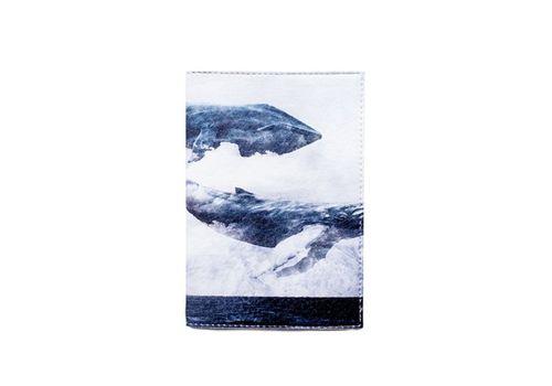 """фото 2 - Обложка на паспорт Just cover """"Киты"""" 13,5 х 9,5 см"""