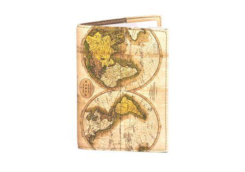 """фото 2 - Обложка на паспорт Just cover """"Древняя карта мира"""" 13,5 х 9,5 см"""