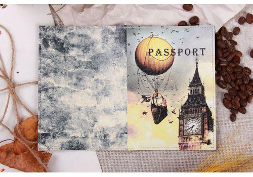 """фото 2 - Обложка на паспорт """"БигБэн"""""""