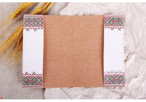 """фото 3 - Обложка на паспорт """"Вышиванка маки"""""""