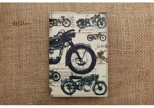 """фото 1 - Обложка на паспорт """"Мотоциклы"""""""