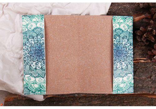 """фото 3 - Обложка на паспорт """"Голубой лотос"""""""