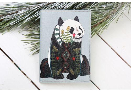 """фото 1 - Обложка на паспорт """"Панда"""""""