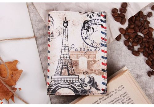 "зображення 1 - Обкладинка на паспорт ""Париж"""