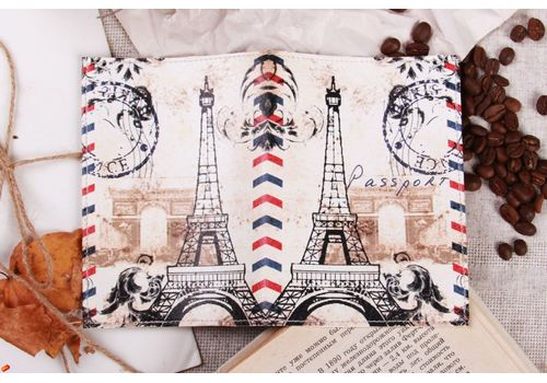 "зображення 2 - Обкладинка на паспорт ""Париж"""