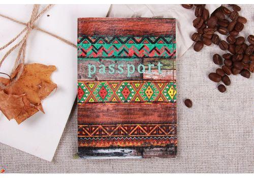 """зображення 1 - Обкладинка на паспорт """"Візерунок на дошках"""""""