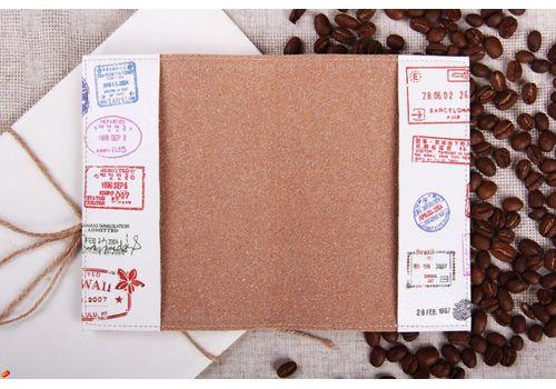 """зображення 3 - Обкладинка на паспорт """"Штампи"""""""