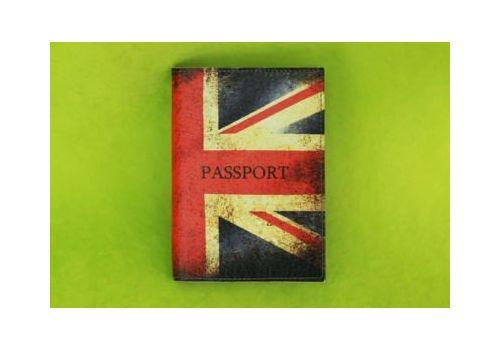 """зображення 1 - Обкладинка на паспорт """"Британський прапор"""""""