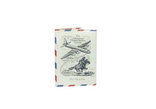 "зображення 1 - Обкладинка на паспорт Just cover ""Airmail"" 13,5 х 9,5 см"