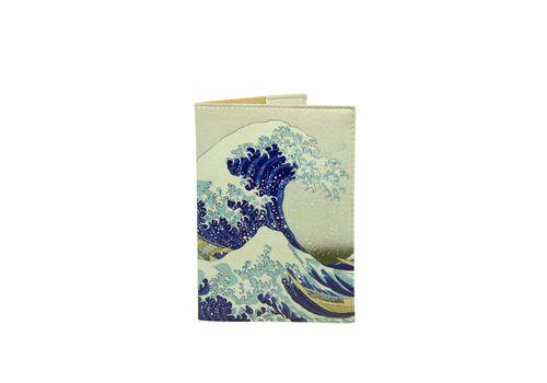"""фото 1 - Обложка на паспорт Just cover """"Японская волна"""" 13,5 х 9,5 см"""
