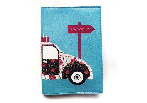 "зображення 2 - Обкладинка на паспорт Just cover ""Retro car"" 13,5 х 9,5 см"