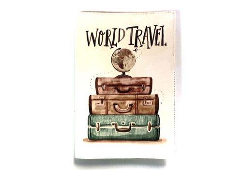 """фото 2 - Обложка на паспорт Just cover """"World travel"""" 13,5 х 9,5 см"""