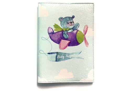 """фото 2 - Обложка на паспорт Just cover """"Детский мишка"""" 13,5 х 9,5 см"""