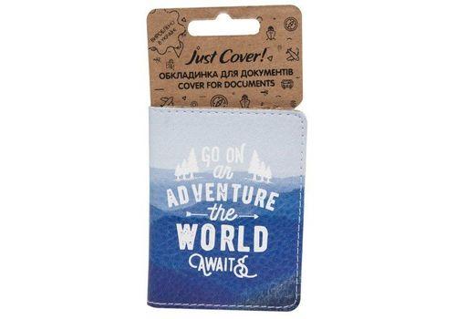 "зображення 1 - Обкладинка на ID-паспорт Just cover ""Go on"" 7,5 х 9,5 см"