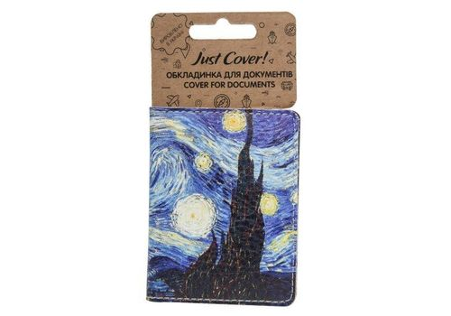 "зображення 1 - Обкладинка на ID-паспорт Just cover ""Ван Гог"" 7,5 х 9,5 см"