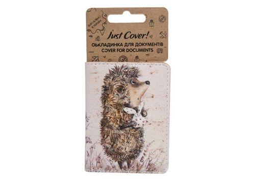 """зображення 1 - Обкладинка на ID-паспорт Just cover """"Ежик в тумане"""" 7,5 х 9,5 см"""