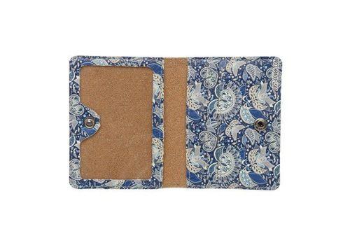 """зображення 2 - Обкладинка на ID-паспорт Just cover """"Візерунок синій"""" 7,5 х 9,5 см"""
