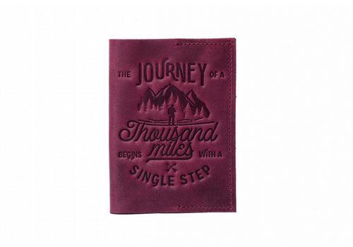 "фото 1 - Обложка на паспорт Raystone ""1000 миль"" бордо"