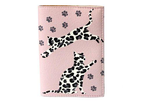 """фото 2 - Обложка на паспорт Just cover """"Леопардовые коты"""" 13,5 х 9,5 см"""