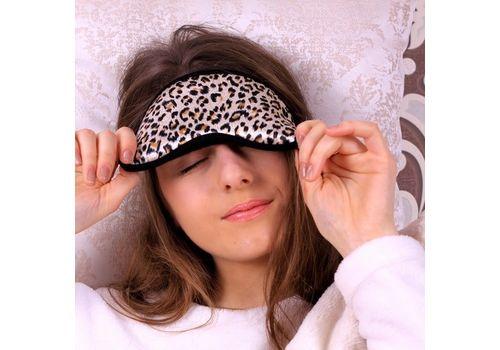 "фото 3 - Маска для сна Fuddy-Duddy ""Леопард"""