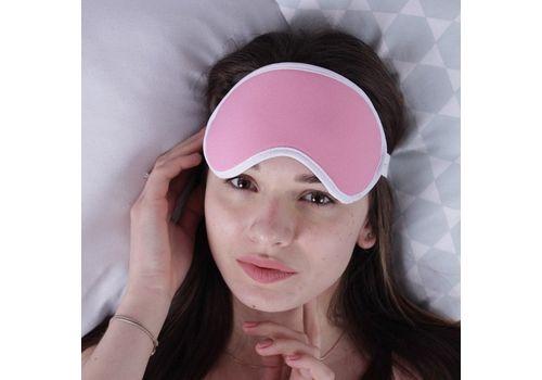 """фото 1 - Маска для сна Fuddy-Duddy """"Pink"""""""
