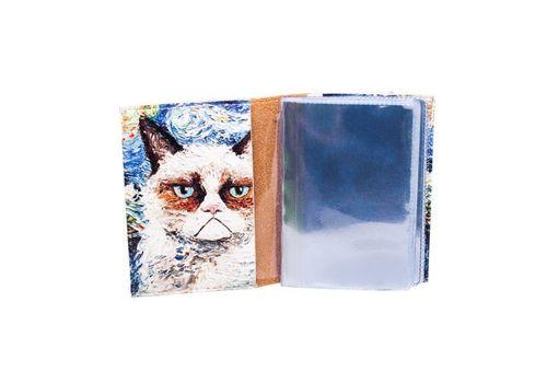 "фото 2 - Визитница Just cover ""Ван кот"" 7,5 х 9,5 см"