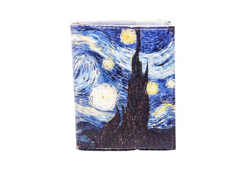 "фото 1 - Визитница ""Ван Гог""  7,5 х 9,5 см"