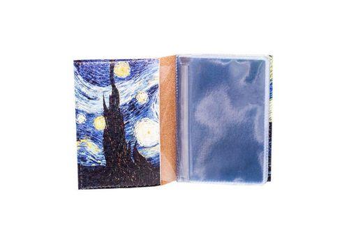 "фото 2 - Визитница ""Ван Гог""  7,5 х 9,5 см"