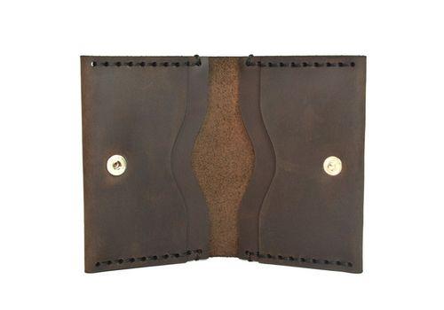 """зображення 2 - Картхолдер Just feel """"Quattro"""" коричневий"""