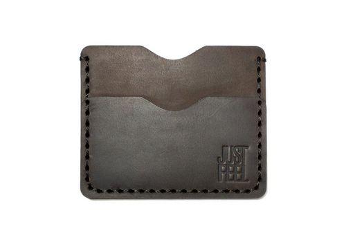 "зображення 1 - Картхолдер Just feel ""Vest pocket"" коричневий"