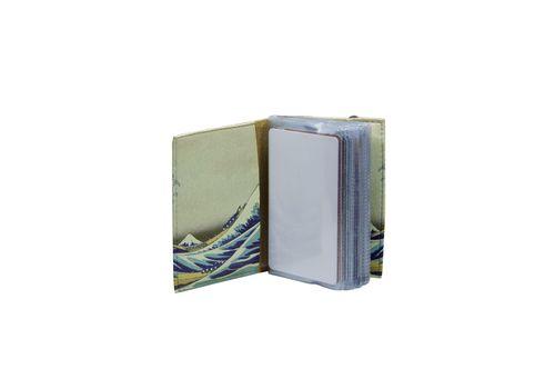 """зображення 2 - Візитниця Just cover """"Японська хвиля"""" 7,5 х 9,5 см"""