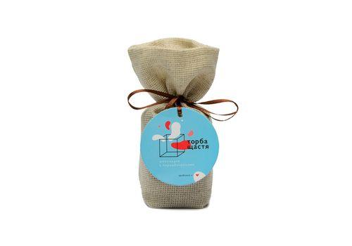 зображення 2 - Шоколадки з передбаченнями Торба щастя (чорний шоколад з солоною карамеллю)