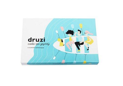 """фото 1 - Шоколадный набор Happy Bag """"Druzi"""" черный шоколад"""