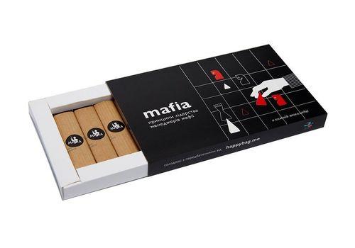 """фото 2 - Шоколадный набор Happy bag """"Мафия"""" черный шоколад"""