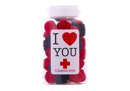 """зображення 1 - Банка солощів Сладкая доза """"Я тебе люблю"""""""