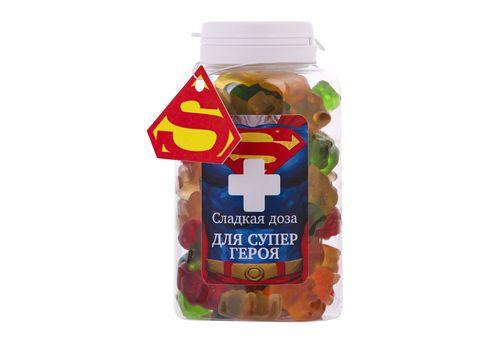 """фото 1 - Конфеты Сладкая доза """"Для супергероя"""" 250 мл."""