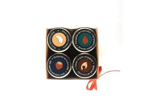 """фото 2 - Подарунковий набір  """"Горіхові крихітки"""" (4х40 г)"""