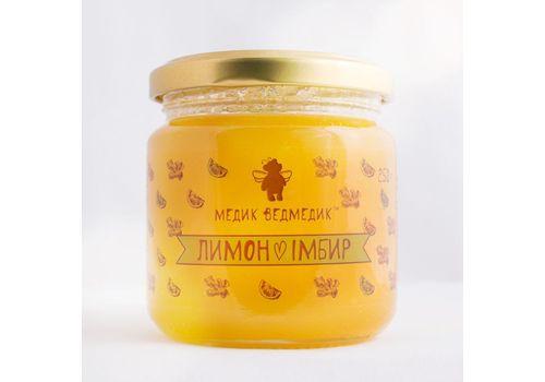 зображення 1 - Мед імбир - лимон Медик Ведмедик 250 г