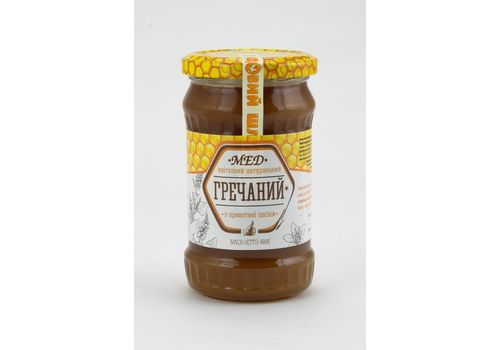 зображення 2 - Мед гречаний Oats&Honey 400 г