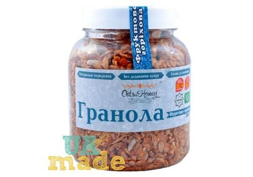 "зображення 2 - Гранола Oats&Honey ""Фруктово-горіхова"" 250 г"