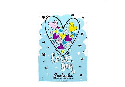 """фото 2 - Печенье с заданиями Cootasks """"Love You"""" 7 шт"""