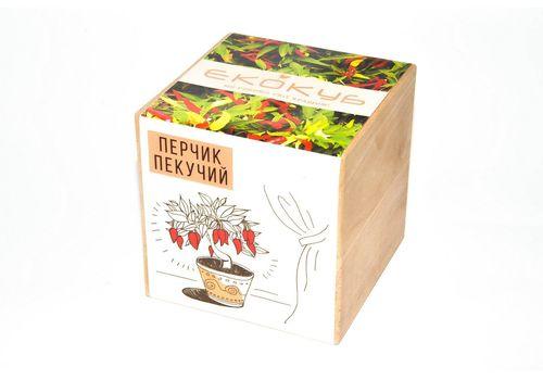 """фото 2 - Набор для выращивания Екокуб """"Перчик"""""""