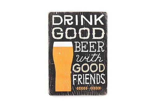 """фото 1 - Постер Wood Posters """"Drink Good Beer"""""""