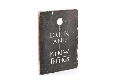зображення 3 - Постер Game of Thrones. I drink and I know things