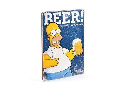 фото 2 - Постер The Simpsons #1 BEER! Wood Poster