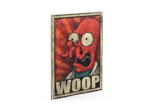 фото 3 - Постер Wood Posters Futurama #5 WOOP 200 мм 285 мм 8 мм