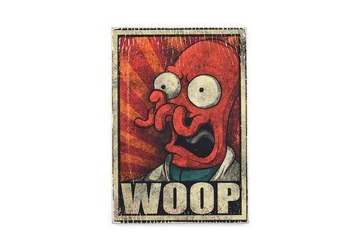 фото 1 - Постер Wood Posters Futurama #5 WOOP 200 мм 285 мм 8 мм