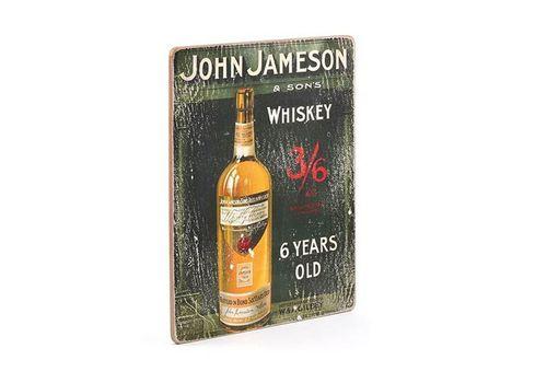 "фото 1 - Постер Wood Posters ""John Jameson #1"""