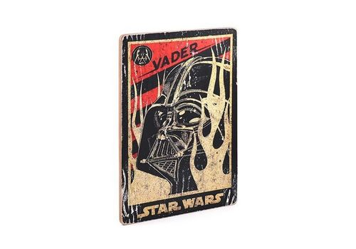 фото 3 - Постер Star Wars #4 Vader Wood Posters 200 мм 285 мм 8 мм